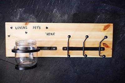 Obešalnik za pasjo opremo Don